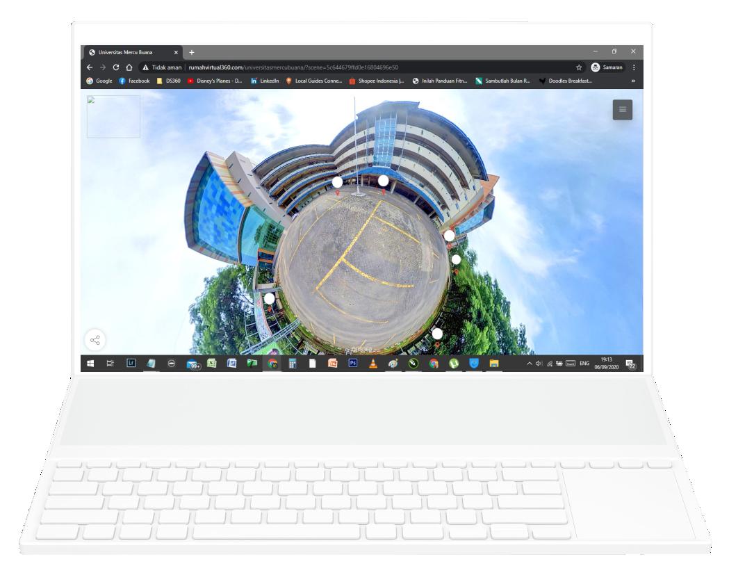 Gambar Virtual Tour 360 Universitas Mercu Buana Jakarta